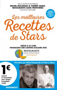 """Livre """"Les meilleures Recettes de Stars"""" aux éditions Marabout"""